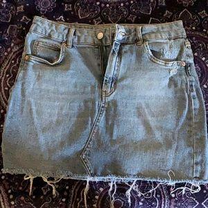 Wild Fable Jean Skirt